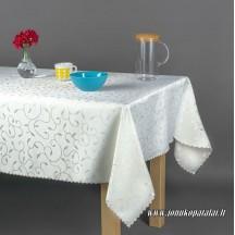 Staltiesė 140x260cm (balta arba šampaninė)